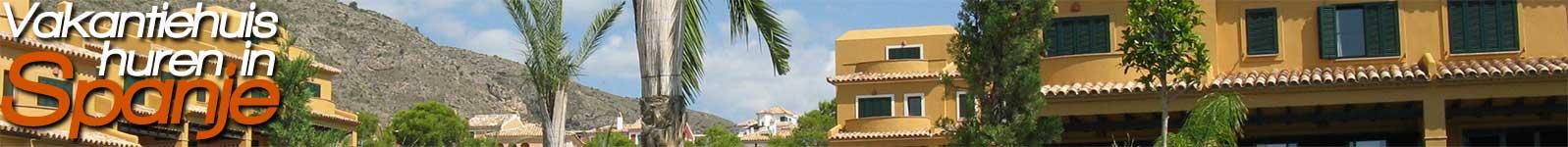 VakantiehuisHurenInSpanje
